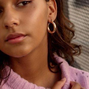 UO Chunky Hoop Earrings